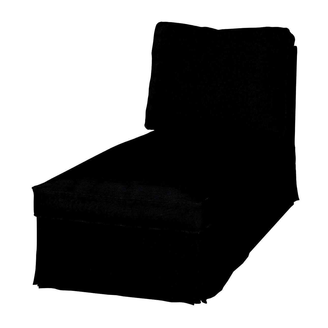 Pokrowiec na szezlong Ektorp wolnostojący prosty tył szezlong Ektorp wolnostojący w kolekcji Etna , tkanina: 705-00