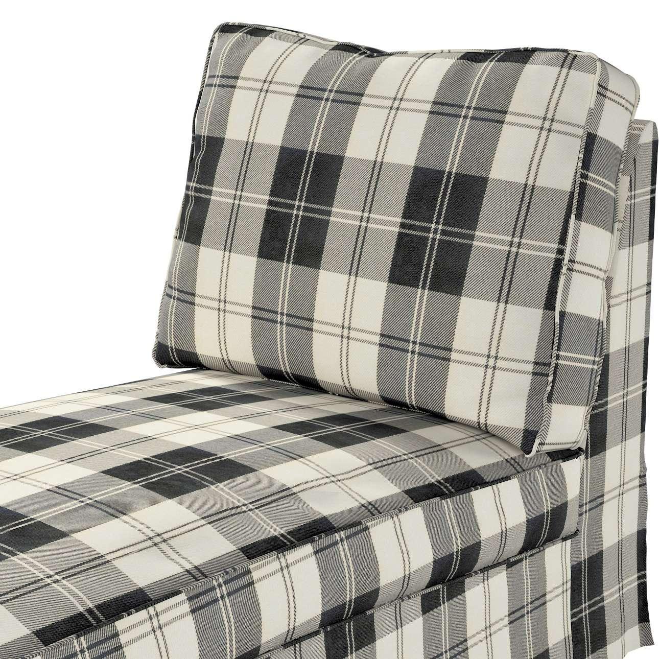 Pokrowiec na szezlong/ leżankę Ektorp wolnostojący prosty tył w kolekcji Edinburgh, tkanina: 115-74