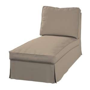 Ektorp Bezug für Recamiere ohne Armlehne, neues Modell Chaiselounge Ektorp  von der Kollektion Cotton Panama, Stoff: 702-28