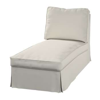 Ektorp Bezug für Recamiere ohne Armlehne, neues Modell von der Kollektion Cotton Panama, Stoff: 702-31