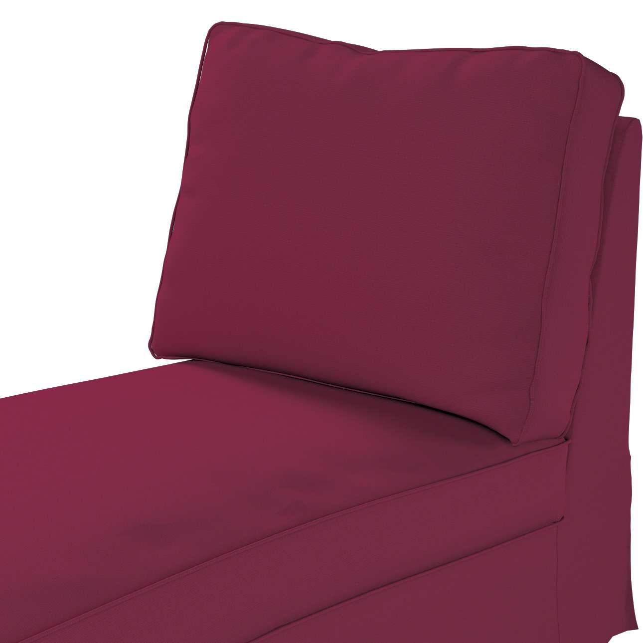 Ektorp Bezug für Recamiere ohne Armlehne, neues Modell von der Kollektion Cotton Panama, Stoff: 702-32