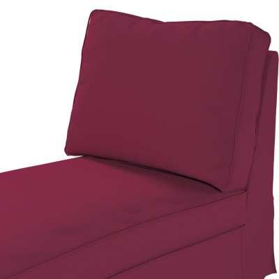 Pokrowiec na szezlong/ leżankę Ektorp wolnostojący prosty tył w kolekcji Cotton Panama, tkanina: 702-32