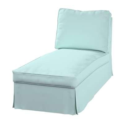 Ektorp Bezug für Recamiere ohne Armlehne, neues Modell von der Kollektion Cotton Panama, Stoff: 702-10