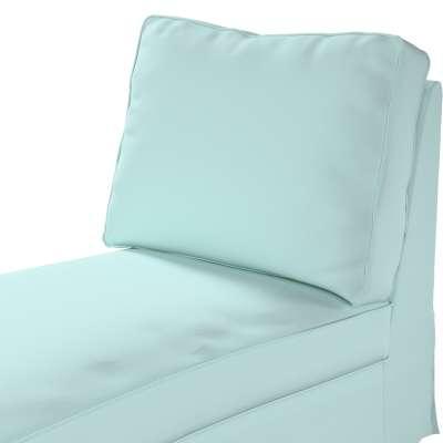 Pokrowiec na szezlong/ leżankę Ektorp wolnostojący prosty tył w kolekcji Cotton Panama, tkanina: 702-10
