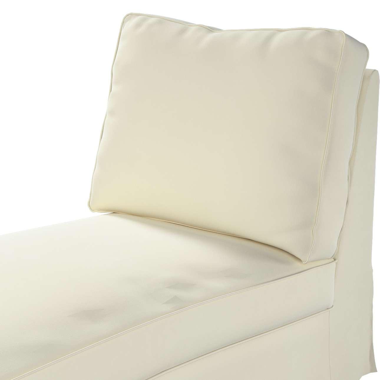 Pokrowiec na szezlong/ leżankę Ektorp wolnostojący prosty tył w kolekcji Velvet, tkanina: 704-10