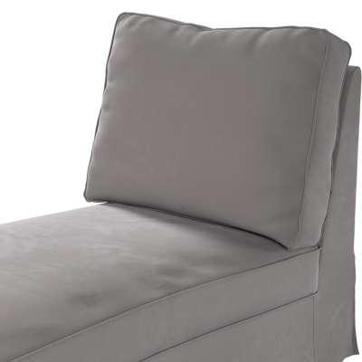 Pokrowiec na szezlong/ leżankę Ektorp wolnostojący prosty tył w kolekcji Velvet, tkanina: 704-11
