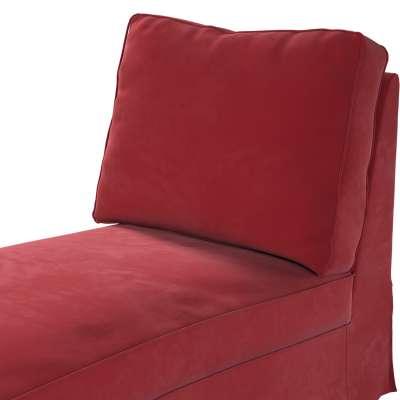 Pokrowiec na szezlong/ leżankę Ektorp wolnostojący prosty tył w kolekcji Velvet, tkanina: 704-15