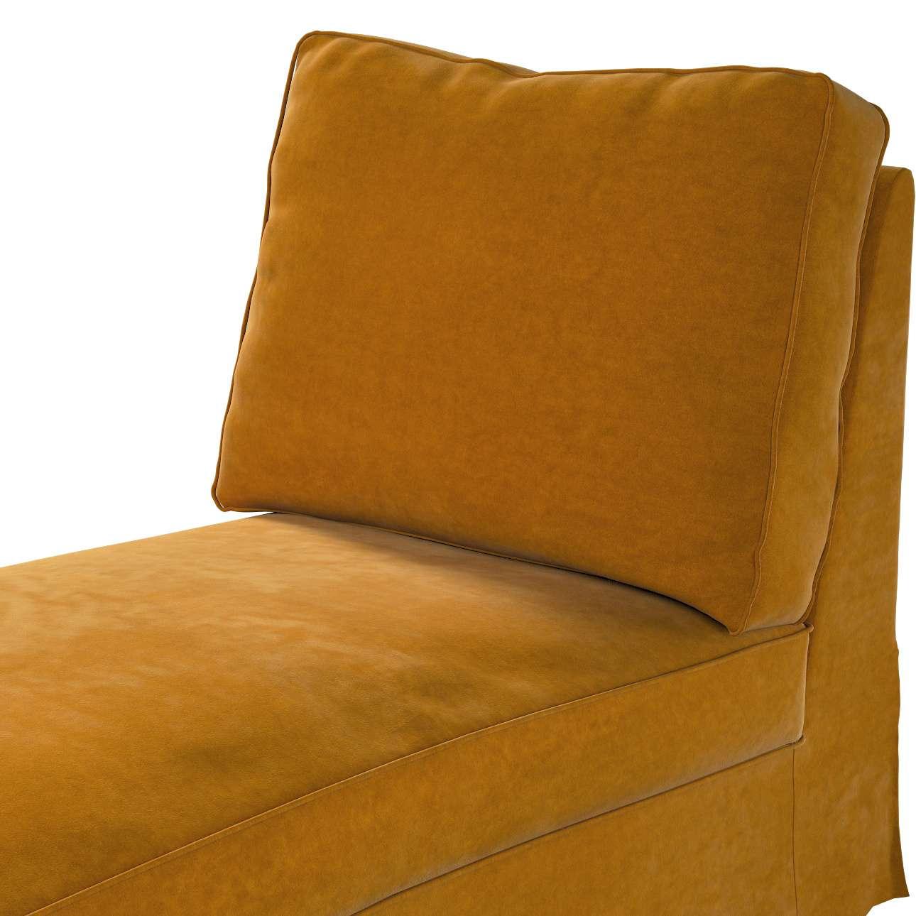 Bezug für Ektorp Recamiere ohne Armlehne, neues Modell von der Kollektion Velvet, Stoff: 704-23