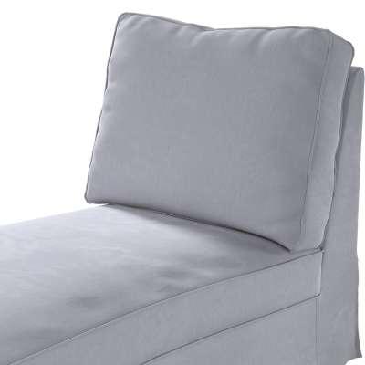 Pokrowiec na szezlong/ leżankę Ektorp wolnostojący prosty tył w kolekcji Velvet, tkanina: 704-24