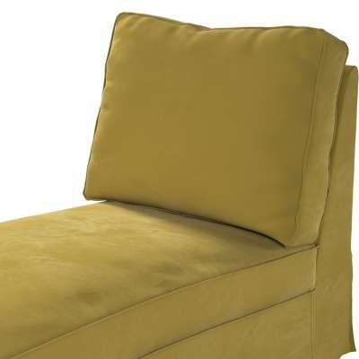 Pokrowiec na szezlong/ leżankę Ektorp wolnostojący prosty tył w kolekcji Velvet, tkanina: 704-27