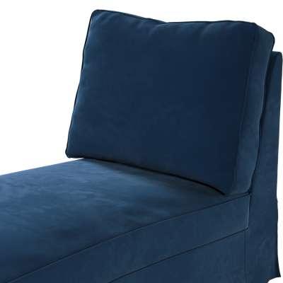 Pokrowiec na szezlong/ leżankę Ektorp wolnostojący prosty tył w kolekcji Velvet, tkanina: 704-29
