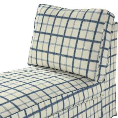 Pokrowiec na szezlong/ leżankę Ektorp wolnostojący prosty tył w kolekcji Avinon, tkanina: 131-66
