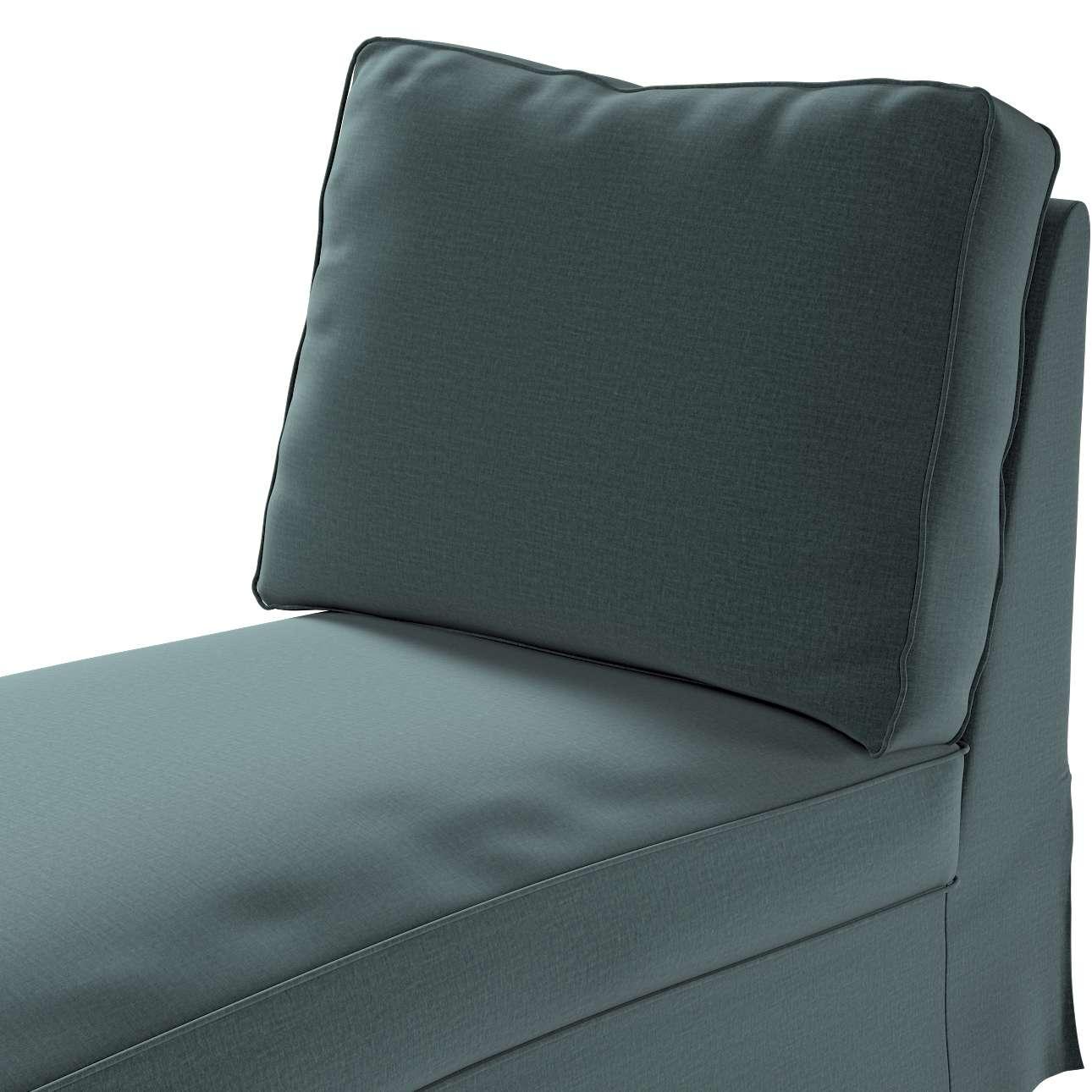 Pokrowiec na szezlong/ leżankę Ektorp wolnostojący prosty tył w kolekcji Ingrid, tkanina: 705-36