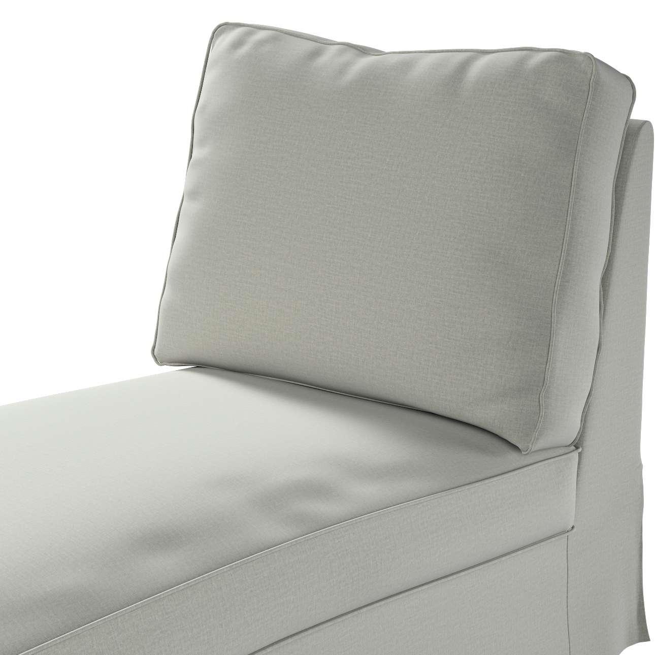 Pokrowiec na szezlong/ leżankę Ektorp wolnostojący prosty tył w kolekcji Ingrid, tkanina: 705-41
