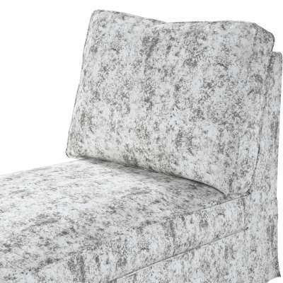 Pokrowiec na szezlong/ leżankę Ektorp wolnostojący prosty tył w kolekcji Velvet, tkanina: 704-49
