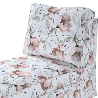 Pokrowiec na szezlong/ leżankę Ektorp wolnostojący prosty tył w kolekcji Velvet, tkanina: 704-50