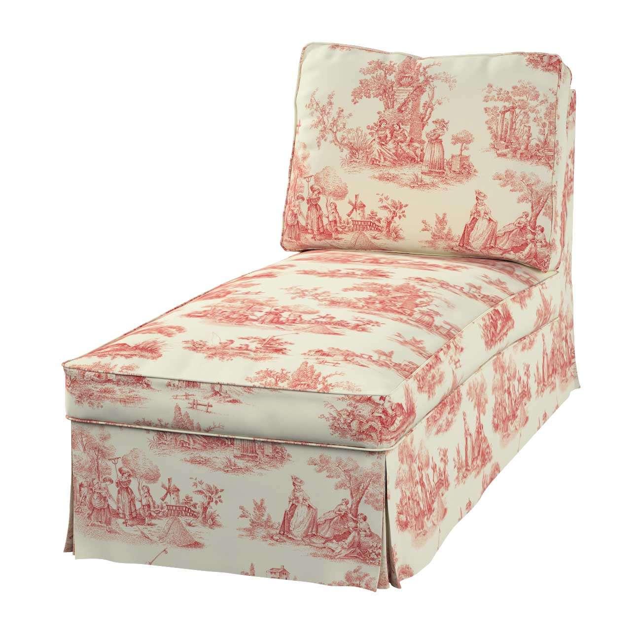 Ektorp gulimojo krėslo užvalkalas (be porankių, tiesus atlošas) Ektorp gulimasis krėslas be porankių, tiesiu atlošu, be suapavalinimų kolekcijoje Avinon, audinys: 132-15