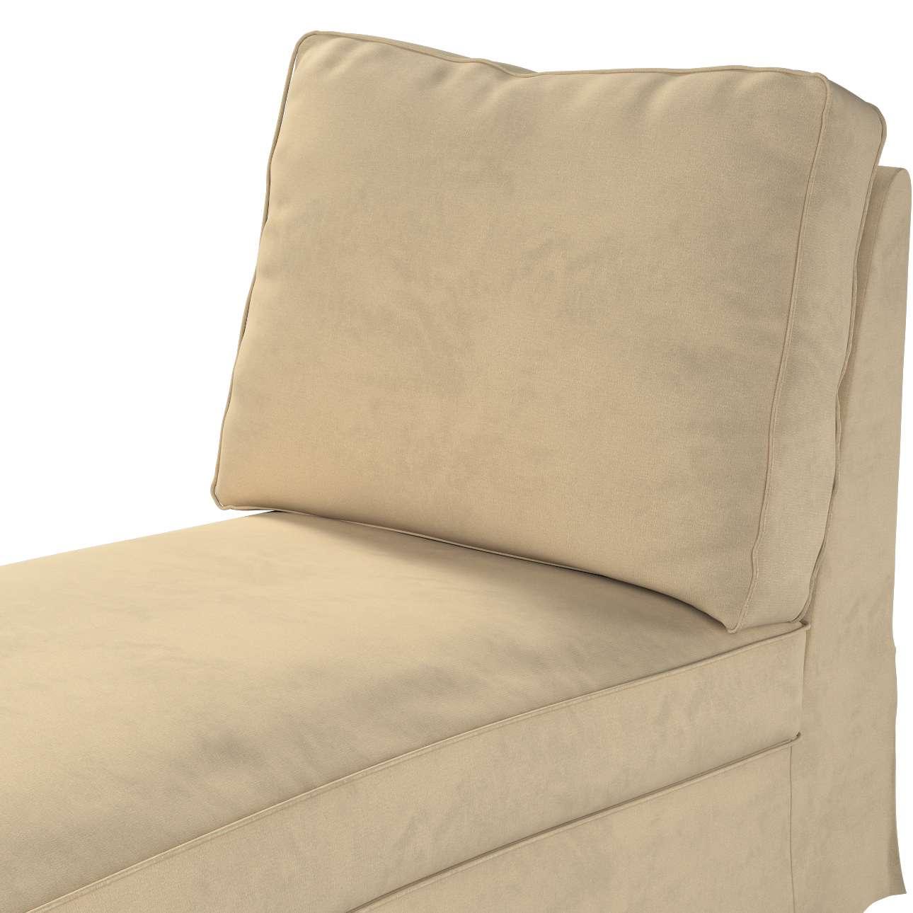 Pokrowiec na szezlong/ leżankę Ektorp wolnostojący prosty tył w kolekcji Living II, tkanina: 160-82