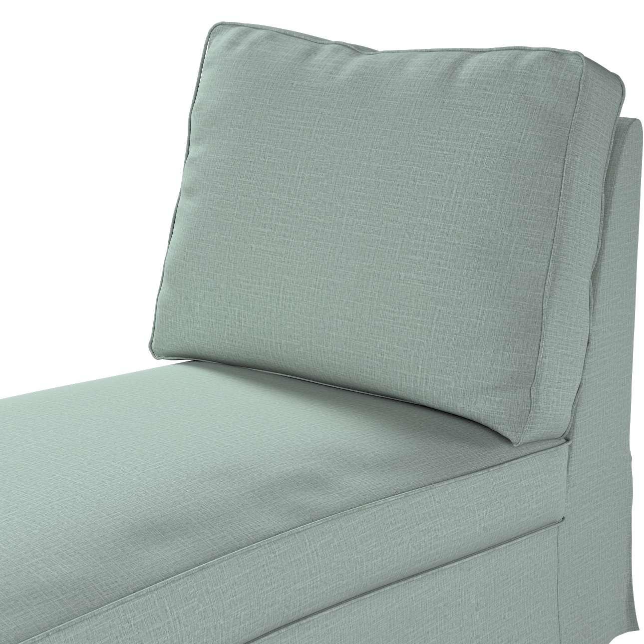 Pokrowiec na szezlong/ leżankę Ektorp wolnostojący prosty tył w kolekcji Living II, tkanina: 160-86
