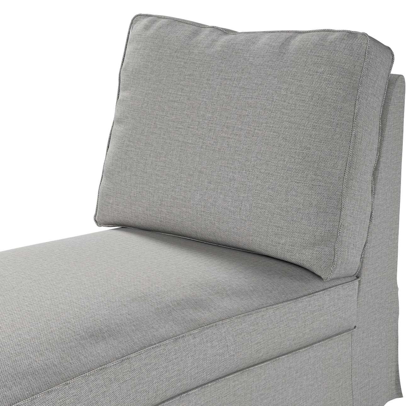 Pokrowiec na szezlong/ leżankę Ektorp wolnostojący prosty tył w kolekcji Living II, tkanina: 160-89