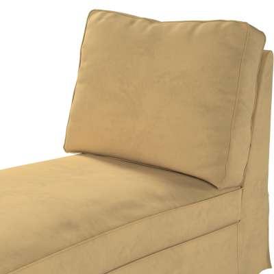 Pokrowiec na szezlong/ leżankę Ektorp wolnostojący prosty tył w kolekcji Living II, tkanina: 160-93