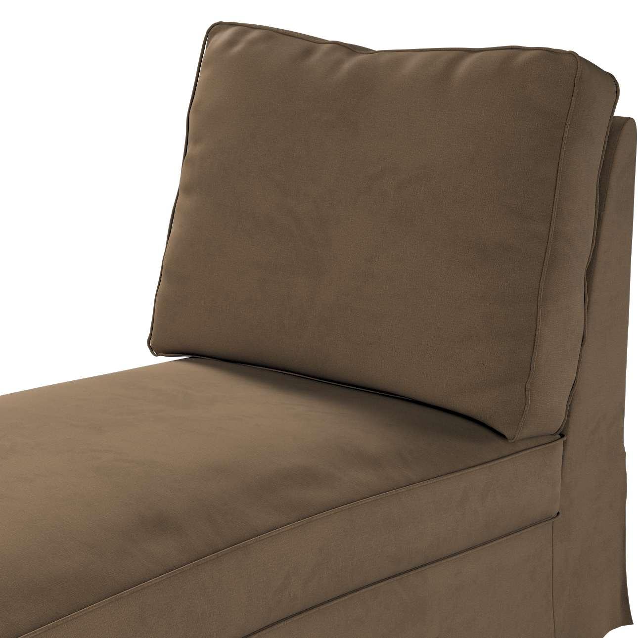 Pokrowiec na szezlong/ leżankę Ektorp wolnostojący prosty tył w kolekcji Living, tkanina: 160-94