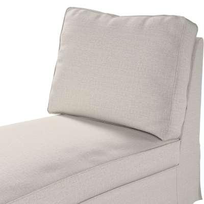Pokrowiec na szezlong/ leżankę Ektorp wolnostojący prosty tył w kolekcji Living II, tkanina: 161-00