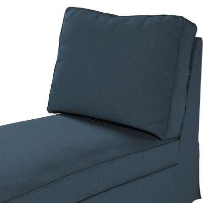 Pokrowiec na szezlong/ leżankę Ektorp wolnostojący prosty tył w kolekcji Etna, tkanina: 705-30