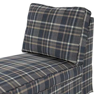 Pokrowiec na szezlong/ leżankę Ektorp wolnostojący prosty tył w kolekcji Edinburgh, tkanina: 703-16