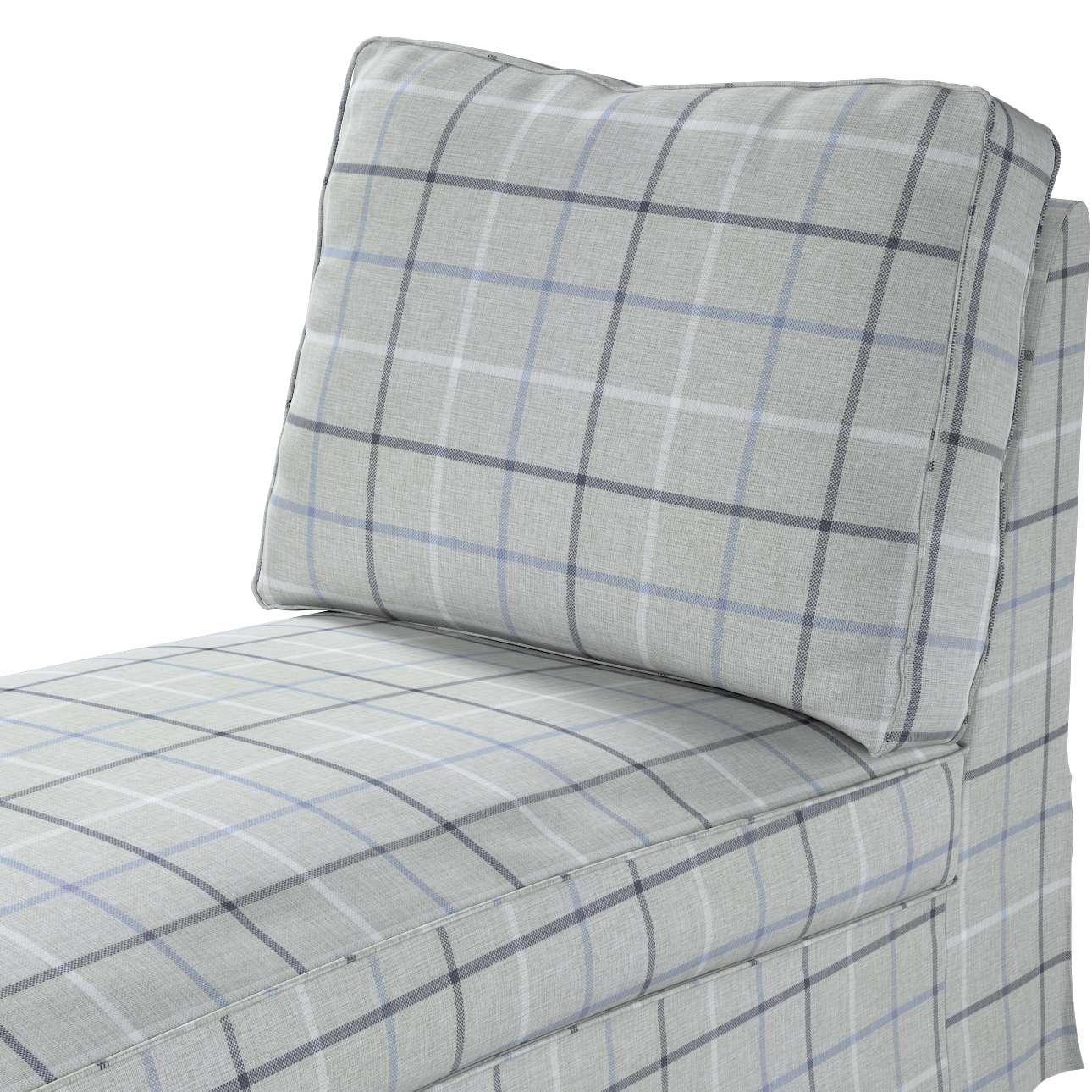Pokrowiec na szezlong/ leżankę Ektorp wolnostojący prosty tył w kolekcji Edinburgh, tkanina: 703-18