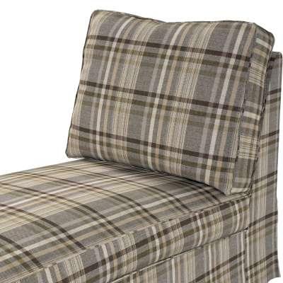 Pokrowiec na szezlong/ leżankę Ektorp wolnostojący prosty tył w kolekcji Edinburgh, tkanina: 703-17