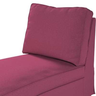 Pokrowiec na szezlong/ leżankę Ektorp wolnostojący prosty tył w kolekcji Living, tkanina: 160-44
