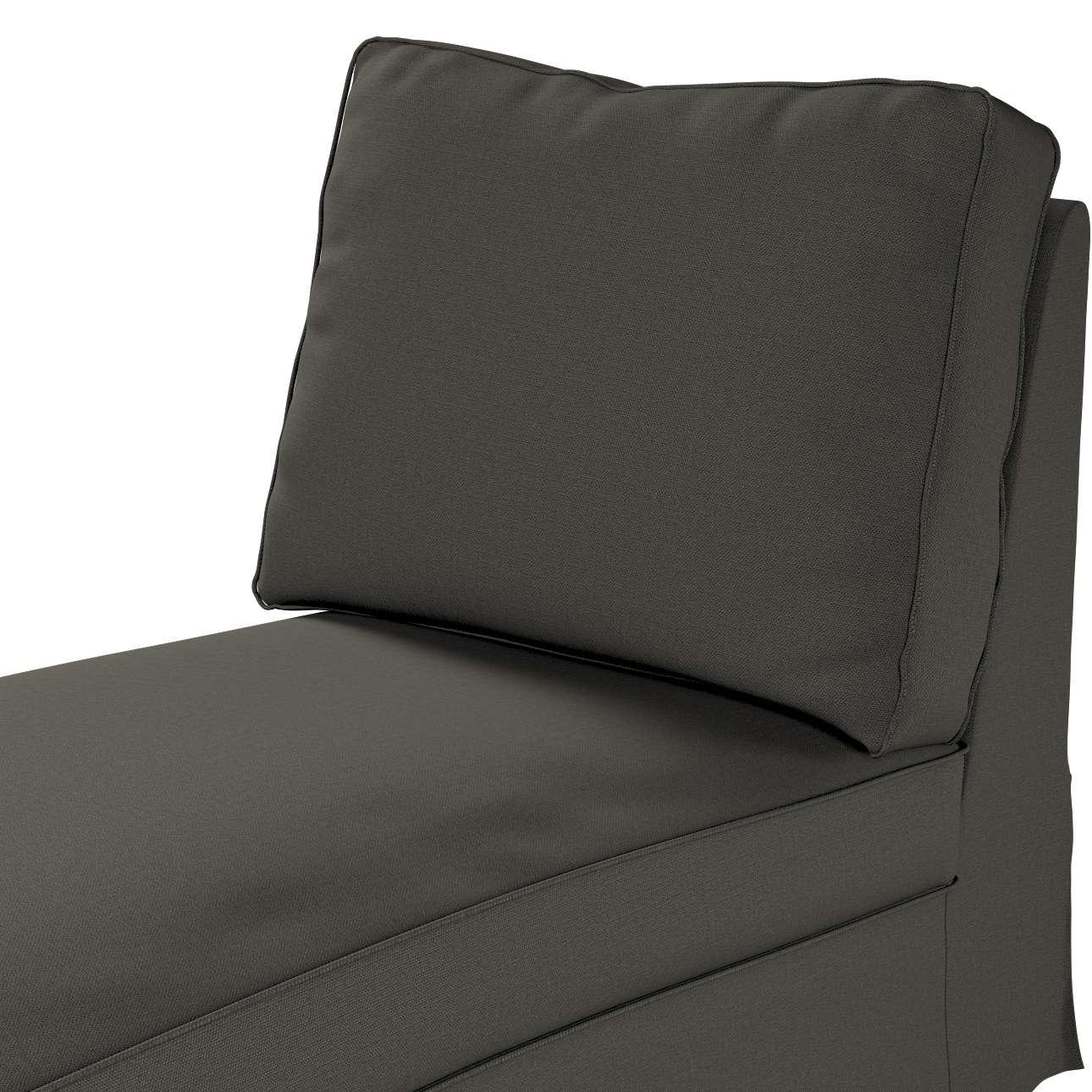Pokrowiec na szezlong/ leżankę Ektorp wolnostojący prosty tył w kolekcji Living, tkanina: 161-55