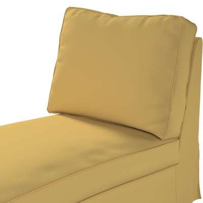 Pokrowiec na szezlong/ leżankę Ektorp wolnostojący prosty tył w kolekcji Cotton Panama, tkanina: 702-41