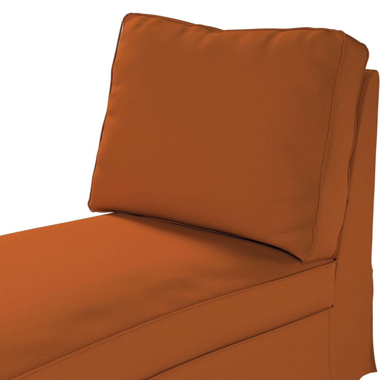 Bezug für Ektorp Recamiere ohne Armlehne, neues Modell von der Kollektion Cotton Panama, Stoff: 702-42
