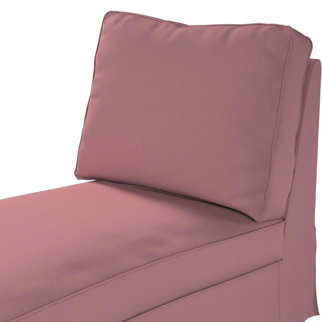 Bezug für Ektorp Recamiere ohne Armlehne, neues Modell von der Kollektion Cotton Panama, Stoff: 702-43