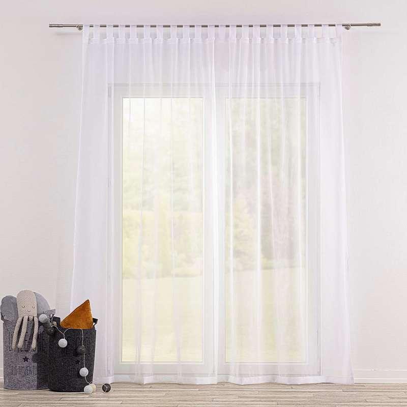 Gardine mit Schlaufen von der Kollektion Soft Veil, Stoff: 900-00
