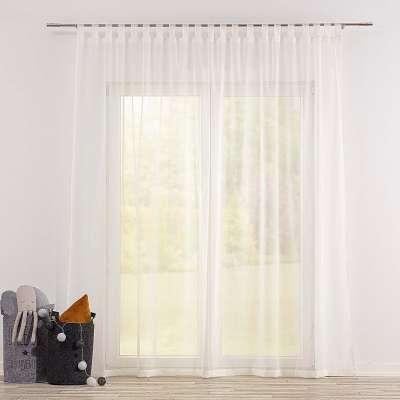 Dieninės užuolaidos su kilpelėmis 900-01 dramblio kaulo Kolekcija Soft Veil
