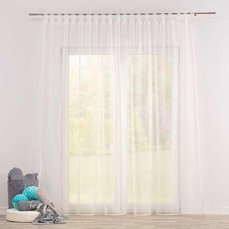 Gardine mit Schlaufen von der Kollektion Soft Veil, Stoff: 901-01