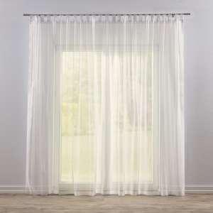 Firana woalowa prosta na szelkach 300x260cm w kolekcji Woale, tkanina: 900-01