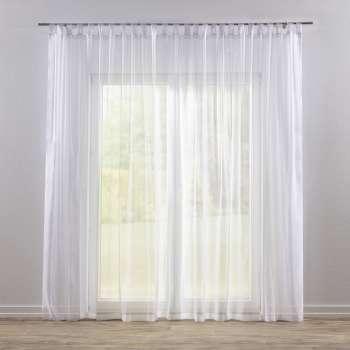Záclona voálová jednoduchá na poutka na míru 300x260cm v kolekci Voile - Voál, látka: 900-00