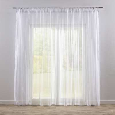 Tab top voile/net curtains