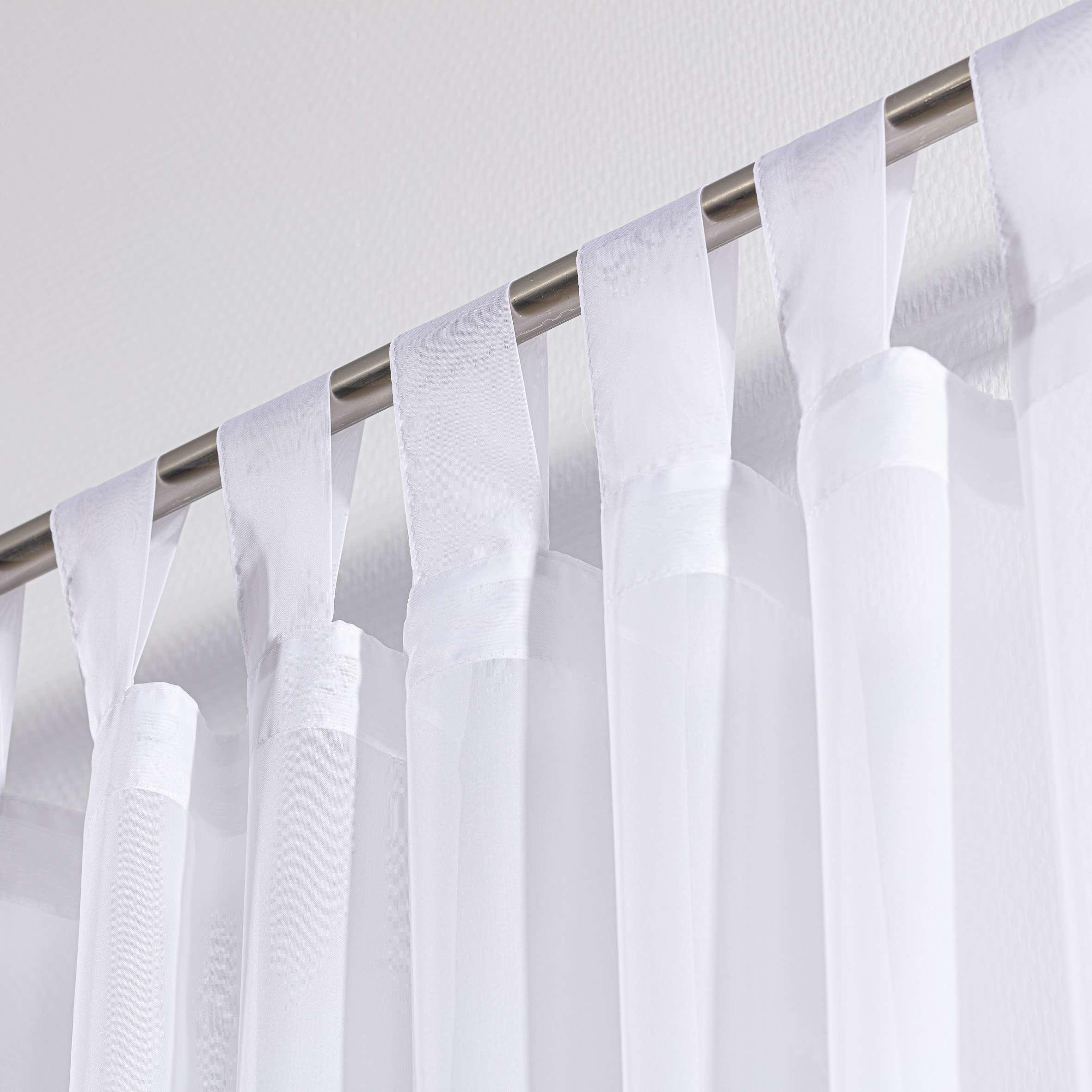 Záclona z voálu na pútkach  300x260cm V kolekcii Záclona hladká, tkanina: 900-00