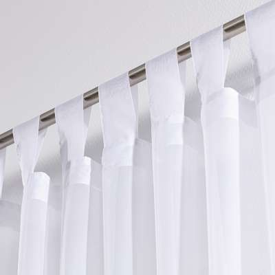 Tab top voile/net curtains 900-00 white Collection Voile