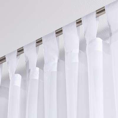 Záclona z voálu na pútkach 900-00 biela  Kolekcia Voálové záclony