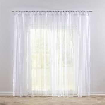 Záclona voálová jednoduchá na poutka na míru 300x260cm v kolekci Voile - Voál, látka: 901-00