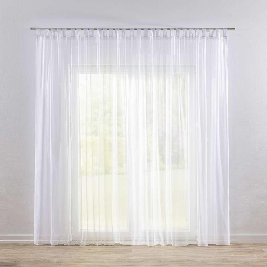 gardine mit schlaufen weiss mit bleiband dekoria. Black Bedroom Furniture Sets. Home Design Ideas