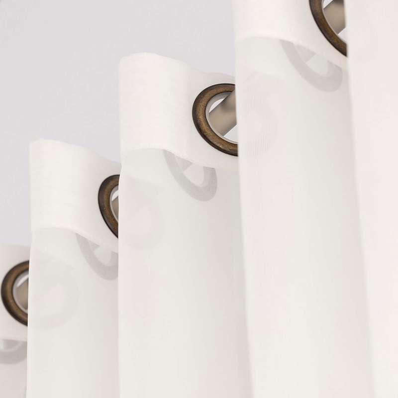 Gardine mit Ösen von der Kollektion Soft Veil, Stoff: 901-01
