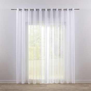 Záclona voálová jednoduchá na kroužcích na míru 300x260cm v kolekci Voile - Voál, látka: 900-00