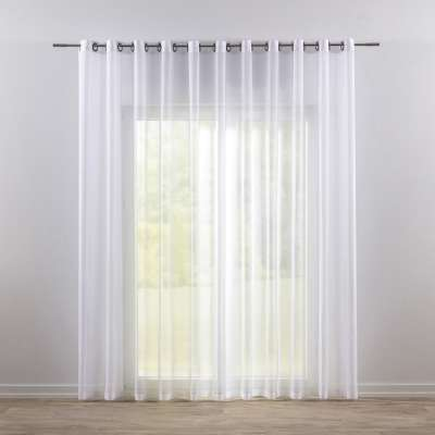 Záclona z voálu na kolieskach 900-00 biela  Kolekcia Voálové záclony